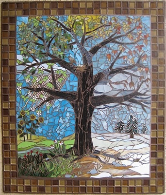 My best friend Alicia is an amazing mosaic artist.  Just wanted to share her work with everyone!