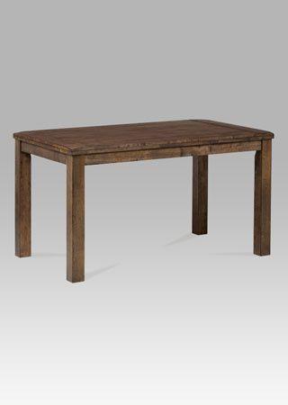 Jídelní stůl 140x80 cm, ořech-antik
