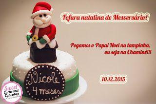 Sweet Cucas and Cupcakes by Rosângela Rolim: Mini Bolo de Mesvresário