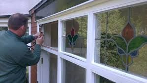 Image result for encapsulated stained glass composite windows