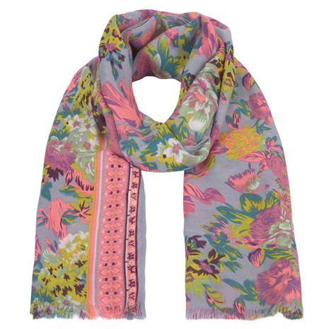 šála, šátek, levná šála, levný šátek, dámská šála, barevná šála, vzorovaná šála : F&F