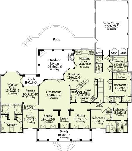 What a great floor plan!