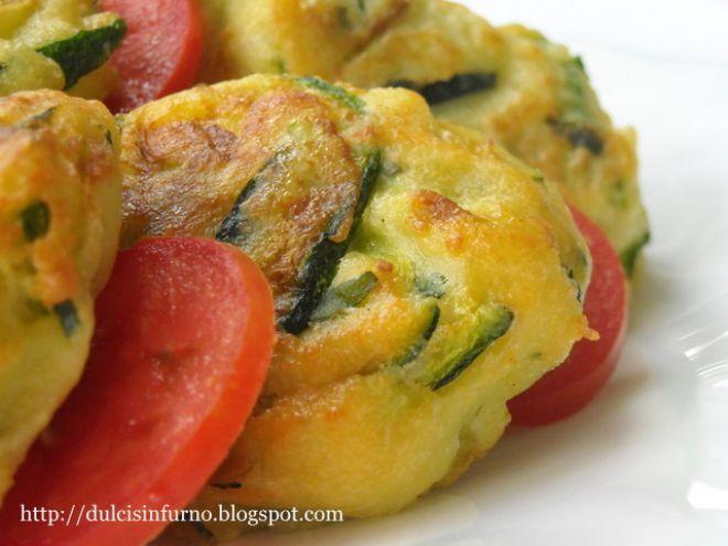 Ricetta Antipasto : Medaglioni di zucchine da Dulcis in Furno