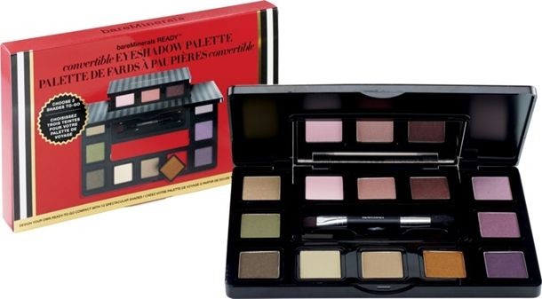 Bare Minerals Holiday 2014 - Bare Minerals Ready Convertible Eye Shadow Palette $39