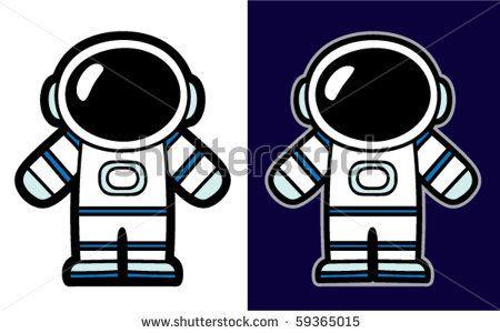 Spacemen Cartoon suits
