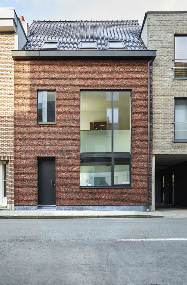 Met hoeveel stijgt de waarde van je woning na een gevelrenovatie? Foto: www.wienerberger.be (rijwoning • renovatie • baksteen)