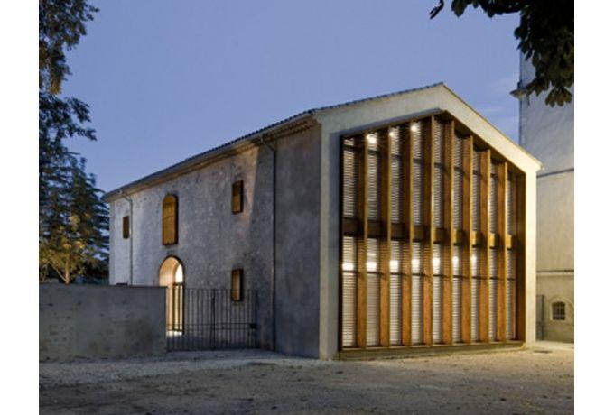 Foyer du 3ème âge & salle polyvalente - D'architectures