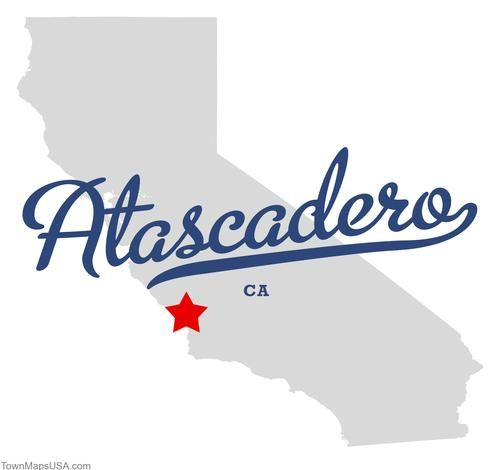 atascadero california | Map of Atascadero California CA