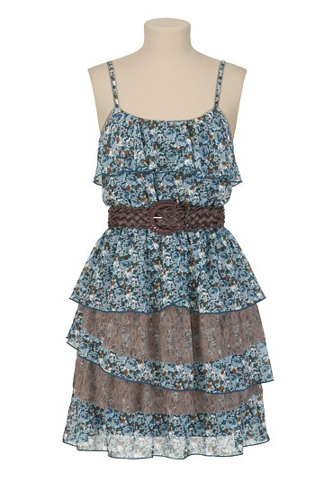 Belted Lace Floral Dress - maurices.comSummer Dresses, Lace Floral, Belts Lace, Fashion Dresses, Clothing Style, Maurice Dresses, Adorable Maurice, Girls Clothing, Floral Dresses