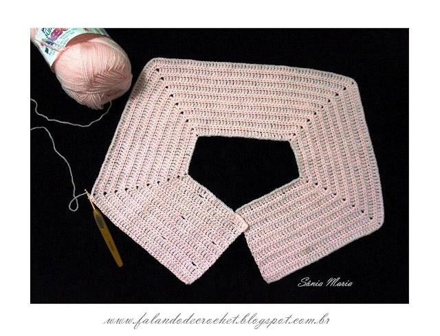 Veja como tecer sua pala com as casas para botões http://falandodecrochet.blogspot.com.br/2012/08/pala-de-croche-retangular-transpassada.html