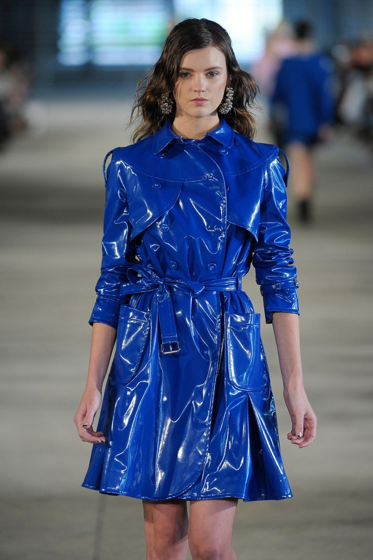 """Love all these cobalt blues from the #pfw runways together - great SS13 colour choice."" - WGSN"