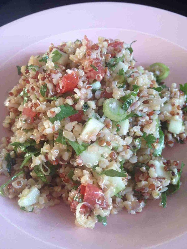 Salade libanaise Quinoa/ Boulgour