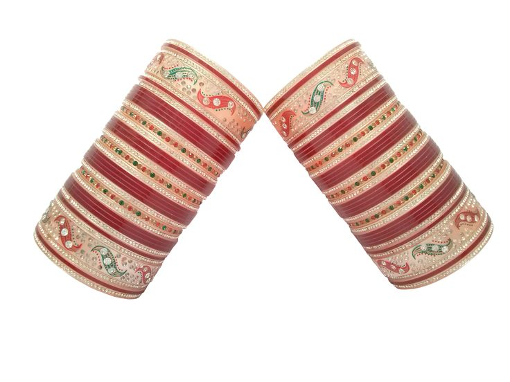 Beautiful designs of punjabi chura buy with best price at indianbridalhome.com