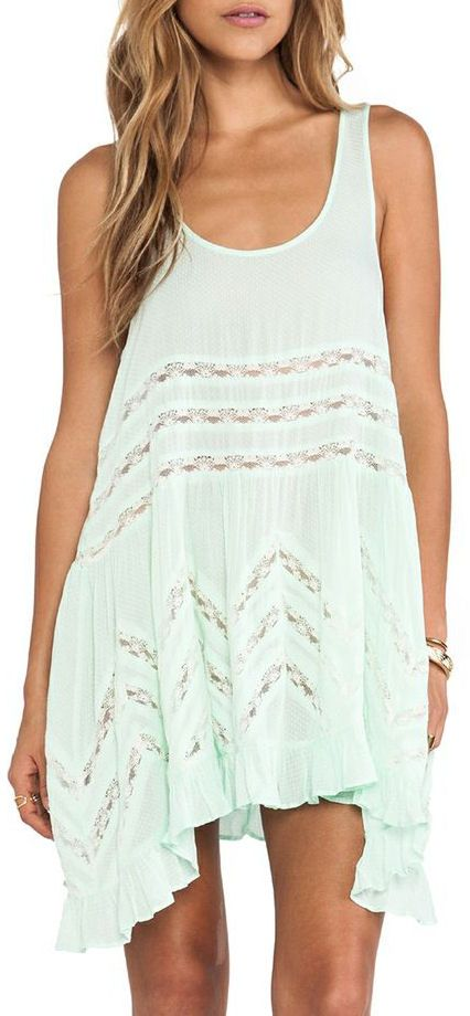 Voile and Lace Dress