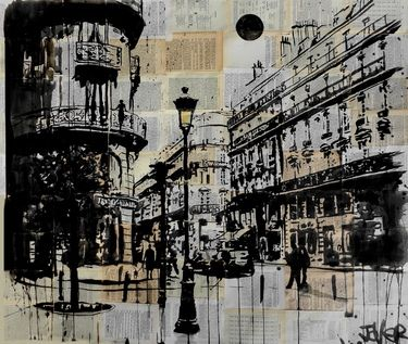 "Saatchi Art Artist Loui Jover; Drawing, ""the french quarter"" #art"
