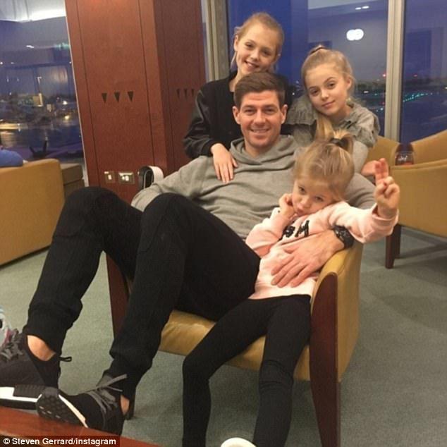 STEVEN G & DAUGHTERS LILLY-ELLA, LEXIE & LOURDES.
