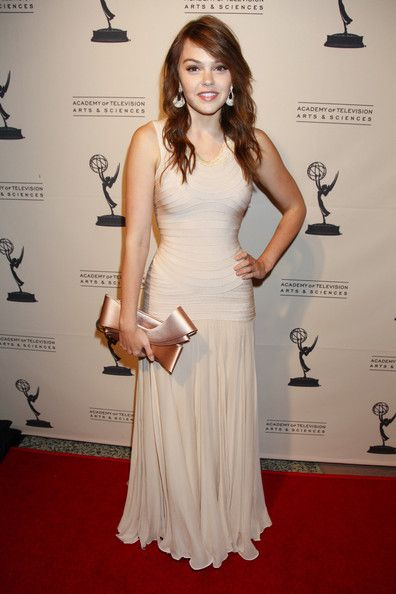 Aimee Teegarden attends The Academy of Television Arts & Sciences' Writers Peer Group Reception Celebrating the 63rd Primetime Emmy Awards at the Leonard H. Goldenson Theatre on September 15, 2011 in North Hollywood, California. - The Academy Of Television Arts & Sciences' Writers Peer Group Celebrates The 63rd Primetime Emmy Awards
