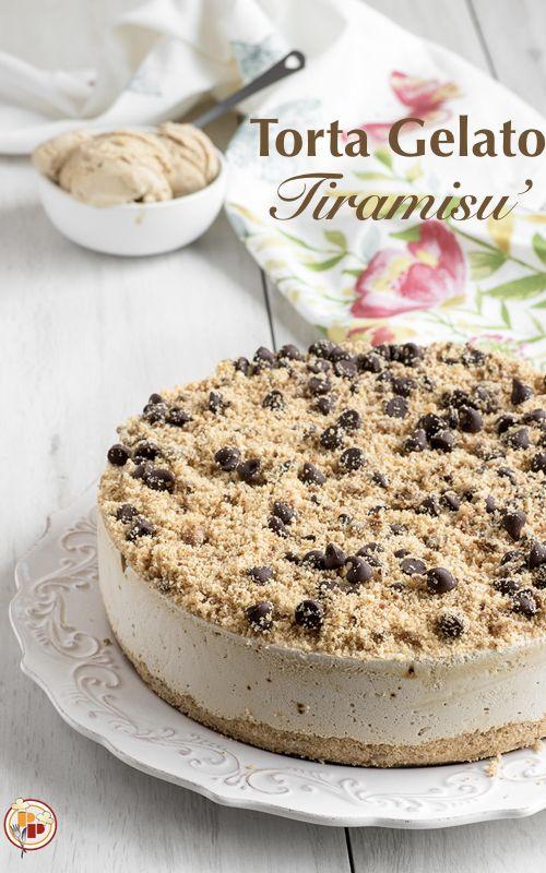 torta gelato tiramisù