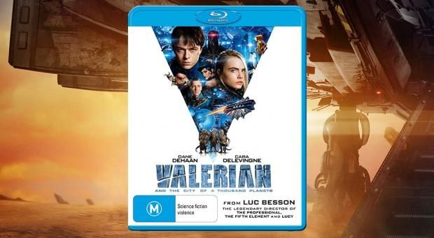 Enter our out-of-this-world 'Valerian' Blu-ray giveaway!: Enter our out-of-this-world 'Valerian' Blu-ray giveaway!:…