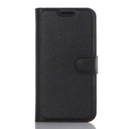 Samsung Galaxy S7 edge musta puhelinlompakko.