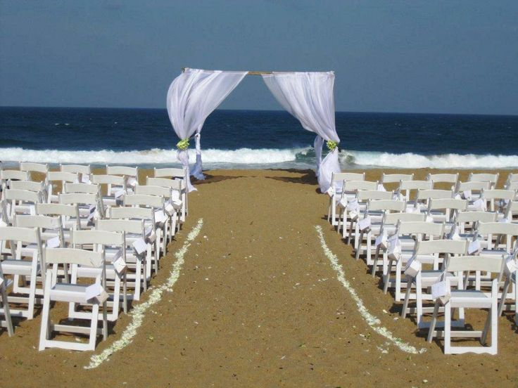 Zimbali Beach Wedding. Decor by www.sweetp.co.za Venue: www.zimbali.com