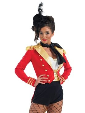 Adult Ringmaster Costume by Fancy Dress Ball