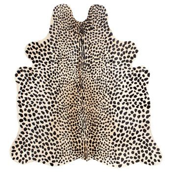 absolutely obsessed with this cheetah rug