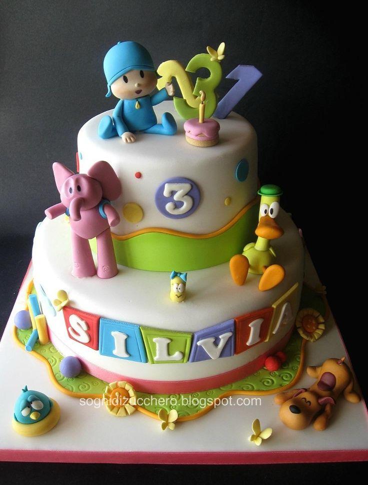 Pocoyo cake.