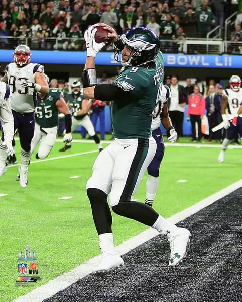 3db30f6e5 Philadelphia Eagles Super Bowl LII Nick Foles Philly Special Touchdown  Catch NFL Football 8