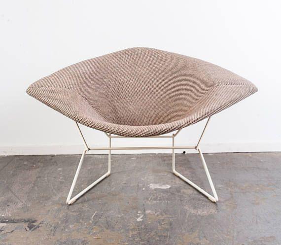 Mitte Des Jahrhunderts Moderne Lounge Stuhl Florence Knoll Diamanten  Rocking Harry Bertoia Vintage Platner Eames Sessel