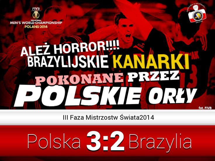 Statystyki po meczu Polska – Brazylia | Siatkówka w Obiektywie
