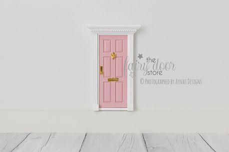 Pale Pink Fairy Door by The Fairy Door Store