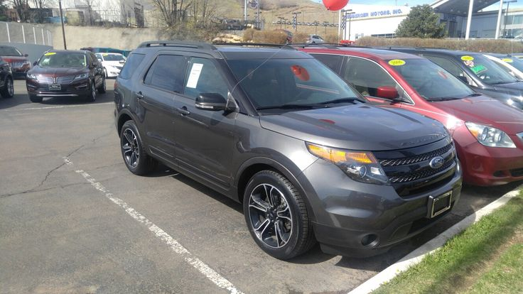Opportunity of the Day! 2015 Ford Explorer Sport with 25k miles on it! Asking $39991! Call or text Robert 9109226353 to set your VIP appointment today!