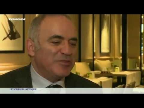 Garry Kasparov veut former un million d'enfants africains aux échecs