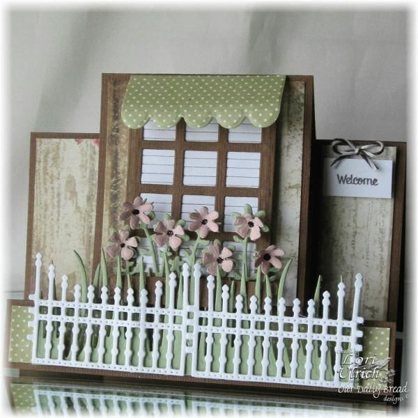 ODBD ~ Welcome Center Step Card ~ by saintsrule - Cards and Paper Crafts at Splitcoaststampers