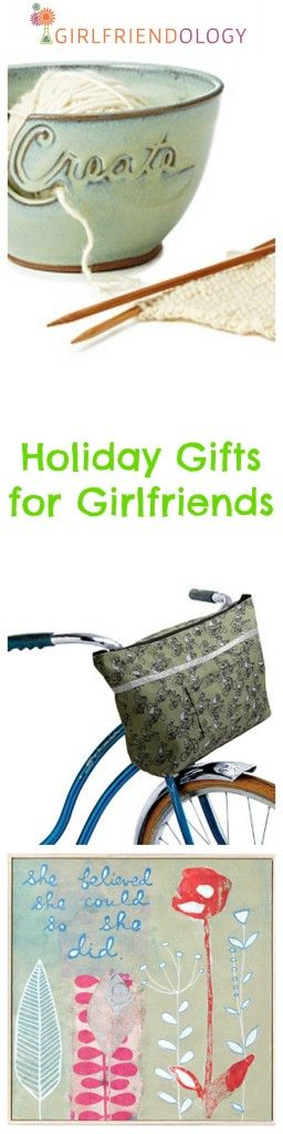 Holiday gifts for girlfriends by Girlfriendology, Christmas gift idea / guide for gifts for women http://girlfriendology.com/lets-get-holiday-started-girlfriend-gifts-youd-buy/