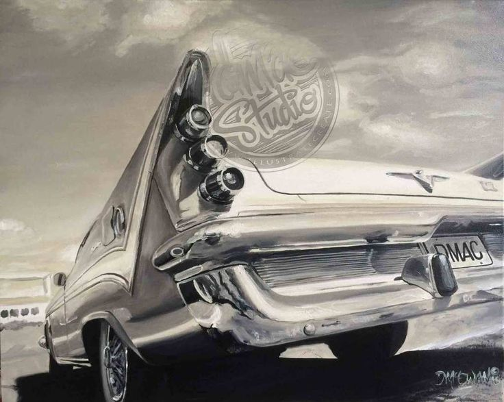 Automotive Art & Illustration