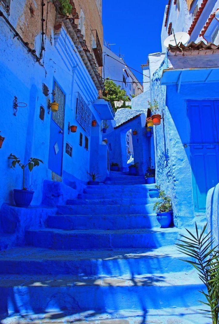 シャウエン旧市街 / モロッコ