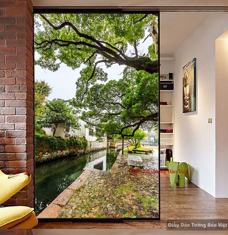 Decal dán tường & Kính K083 | Giấy dán tường Bảo Việt