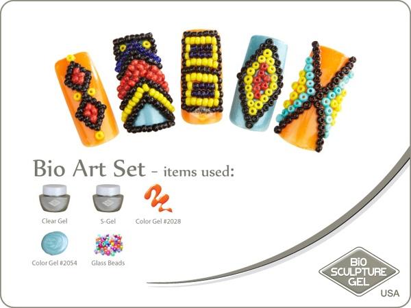 African beads art set