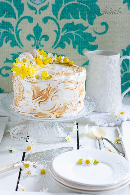 un pedacito de cielo: Tarta de limón y merengue