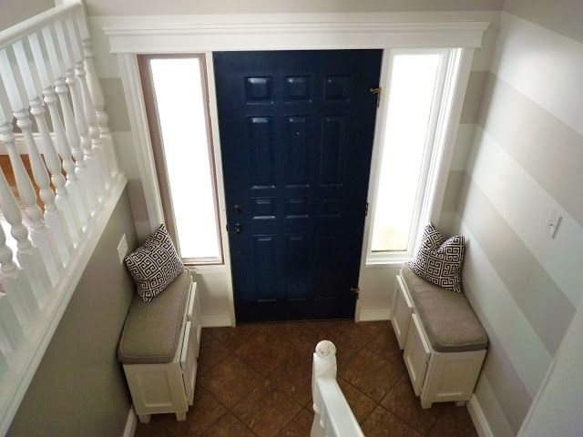 Home Without A Foyer : Best ideas about split entry design on pinterest the