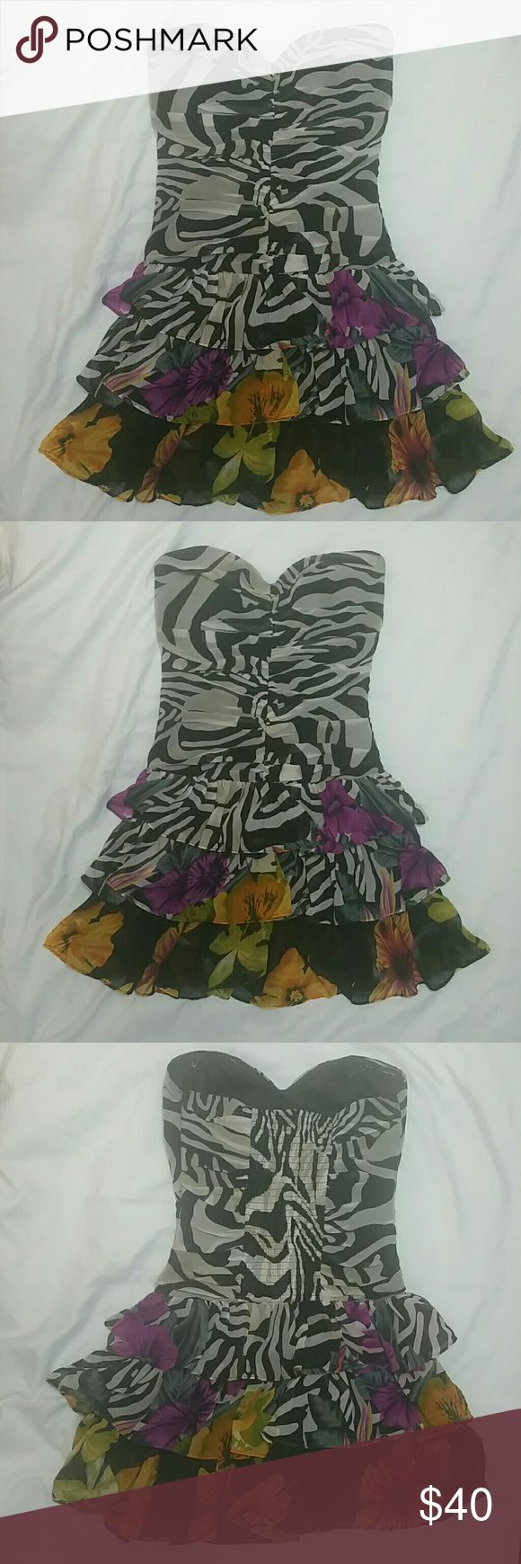 Mini Tube Dress Mini Tube\strapless Party Dress... Only worn once... Offers are welcome Arden B Dresses Mini