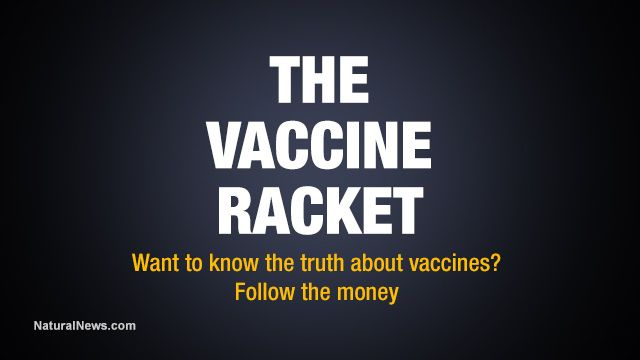 The Vaccine Racket: Amazing infographic reveals financial connections behind criminally-run vaccine industry