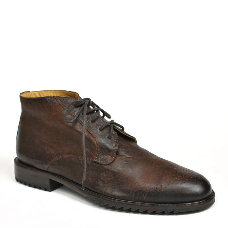 Everett Chukka Boot in Walnut Brown by Martin Dingman