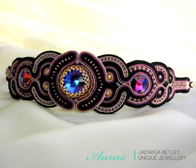 Aurus soutache bracelet