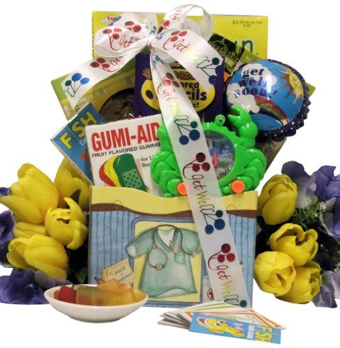 Great Arrivals Kid's Get Well Gift Basket Ages 6 to 8, For Life's Boo Boos - http://mygourmetgifts.com/great-arrivals-kids-get-well-gift-basket-ages-6-to-8-for-lifes-boo-boos/