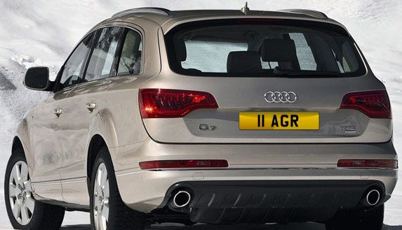 II AGR number plate on offer Cheap AGR reg mark www.registrationmarks.co.uk