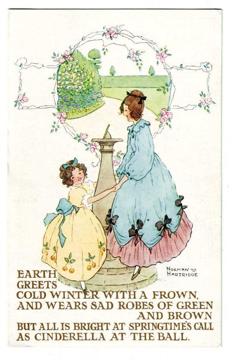 10 Images About British Postcards From The Nursery On