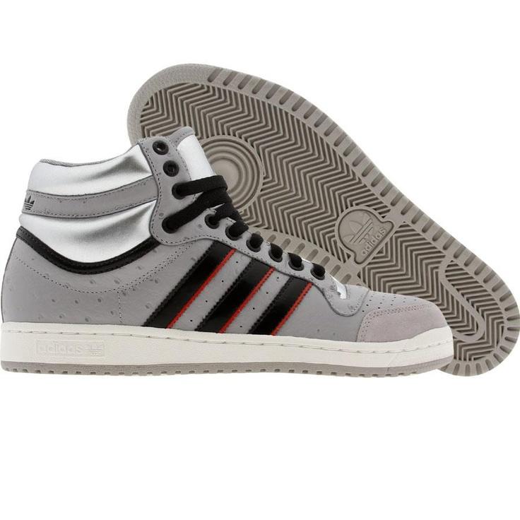 Adidas Top Ten High (aluminum / black1 / white chalk) G12136 - $84.99